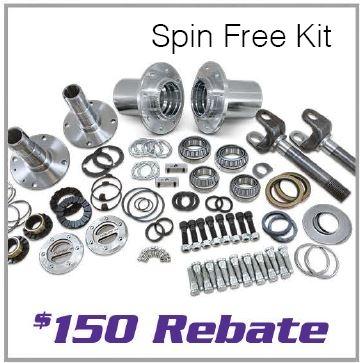 Yukon Spin Free Kit