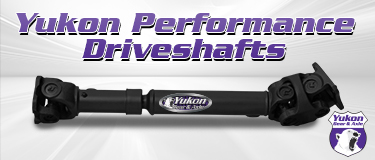 Yukon Hardcore Driveshafts RWK Haus Supply