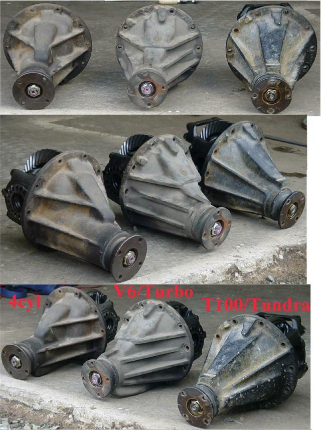 "V6 - 8"" Toyota Axle Parts"